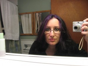 Woo purple hair!